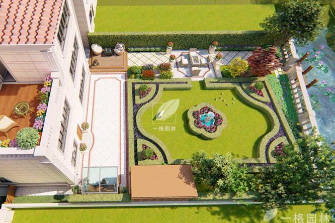 高端别墅花园设计改造有关植物设计要点