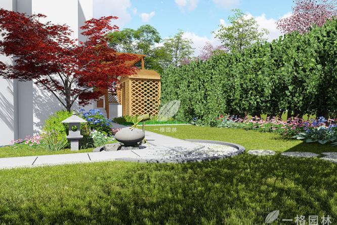 上海一格园林讲解别墅花园设计常见围墙设计