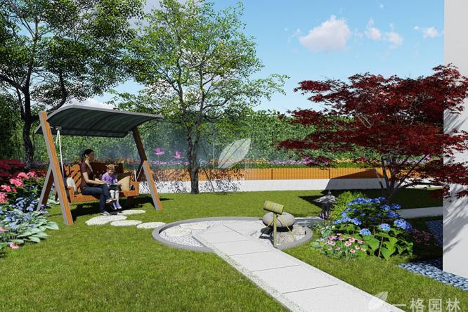 别墅花园庭院施工流程