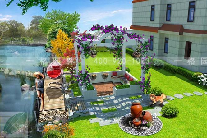 关于别墅花园风格设计中植物搭配技巧