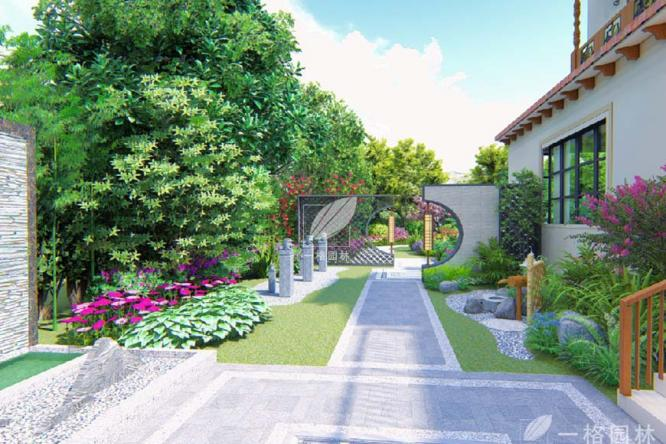 中式庭院景观设计中最美的元素