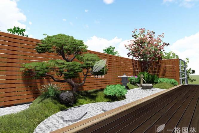 日式庭院景观设计配置植物攻略