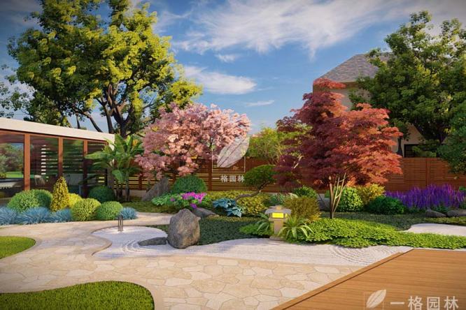 星洲艺墅私家庭院景观设计