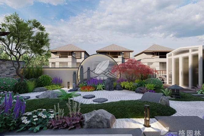 六十四阶别墅花园设计施工