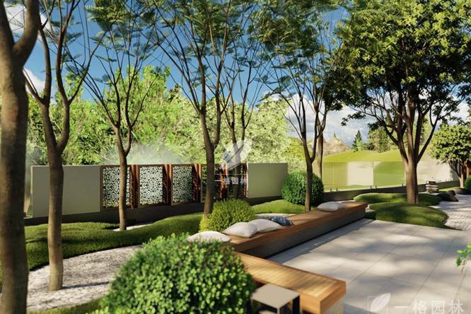 杭州别墅花园公司讲解露台花园设计技巧