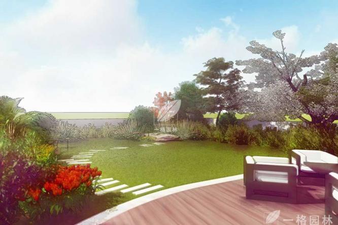 宁波锦绣城屋顶花园